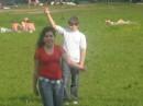 Типа играем в волейбол!
