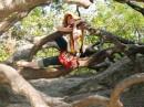 мартышка и бревно:) воронцовский парк