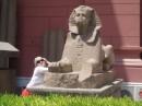 около музея, Египет.