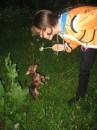 Мой Юстин очень сильно любит одуванчики )))