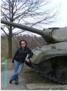 Пережиток війни... Ей, я не про себе! Про танк... :-)