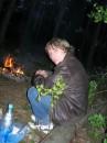 полмесяца назад в лесу))