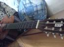Моя гитара - Yamaha c40 (По любви приклеил ESP)