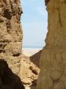 Вид на Мертвое море...