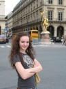 Париж, памятник Жанне Д'Арк.