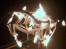 А ето в парке обматили лавочку туалетной бумагой и подожгли а горело то как =))) Вопшим посли втречи выпускников впомнили школные годы вындалы нах :)))