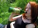 Ира какбэ констатирует то, что она счастлива)))