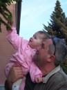 Я с доченькой последний день весны 2008