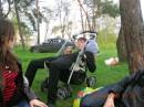 Тёма в коляске