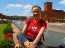 Я после собеседования на прогулке в городе Лодзь)