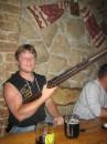 Пиво настоящий козел! А из этой винтовки кого-то таки убили и не раз.