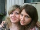 эт я со своей сотрудницей и подругой