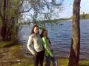 с сестрой в Гидропарке