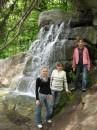 Мої рідні (Я зліва, по середині мій рідний брат, а зправа моя двоюрідна сестра)