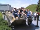И снова на броне)))