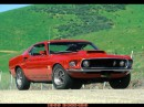 Ford boss429 (mustang) 1969 тоже зожыгательная штучка
