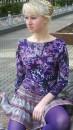 Фиолетовая кукла