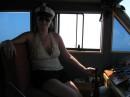 На катере в Балаклаве, июнь 2008