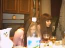Застолье....... Вот это мы накушались...... В бутылке - Юля.