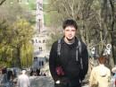 Это, наверное, самое интересное место в Таганроге. Большая лесница и дорожка ведущая к морю, а передо мной ( не в кадре ) солнечные часы. ( Часы если верить нашим с Юлей умозаключениям давно сломанные )