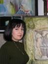 В мастерской художницы