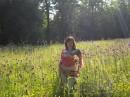 в Трускавце. отдыхала в июне. очень красивая природа.