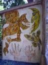 Местный художник стены института разрисовал