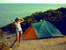 вот так вот чудненько мы отдыхали в палатке)..