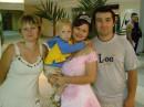 Невестка Гала, племяшка Димасик, братишка Андрей и Я.
