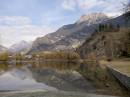 Франция маленькое озеро