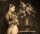 "Фотоспектакль ""Самовар, цветы, бабочки"""