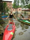 Ania z wioslom