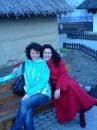 Весна 2008, с подругой