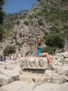 загробная жизнь...Ликия.....тысячи лет до н.е.