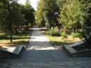 Городской сад. Лестница