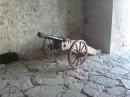 пушка. крепость в Хотине