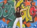 Стена графити