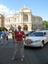 в тот день было прям нашествие свадеб ))