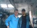 на пароход старый два осла залезли(: