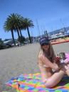 Na plage San Francisco