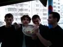 Я второй слева!!! Ещё волосатый!! 14.04.2005г