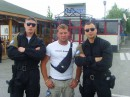Tres amigo, я слева.