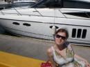 Клевая яхта.