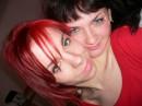 Это я и моя лучшая подруга Иришка.......