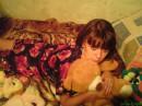 а с этим мишкой я сплю::-)))