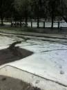 Вишневый.Снег 28 мая 2008 года!