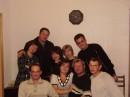 ДР моей кумы, одноклассници и сокурсници, моей свидетельници на свадьбе - Надежды. С нами наши подруги - кумовья и одноклассници....и наши достойные половины...:)))