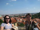 Прага - смотровая площадка