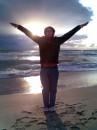 SETTING SEA SUN