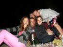 Празднование моего Д.Р. на берегу моря, со свечами, в кругу очень близких друзей.